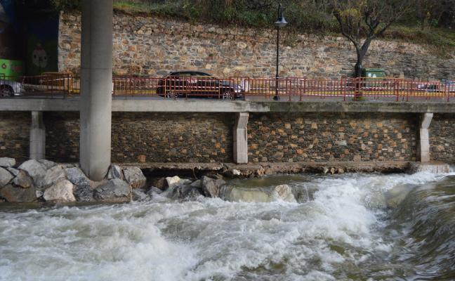La Confederación evalúan los daños de la riada sobre La Veguetina