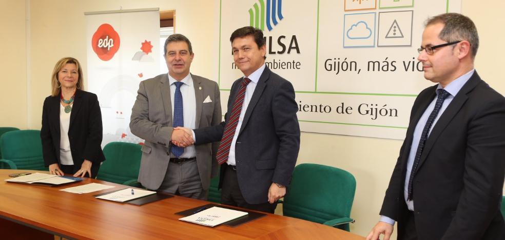 Emulsa incorporará 29 vehículos de gas natural en los próximos tres años