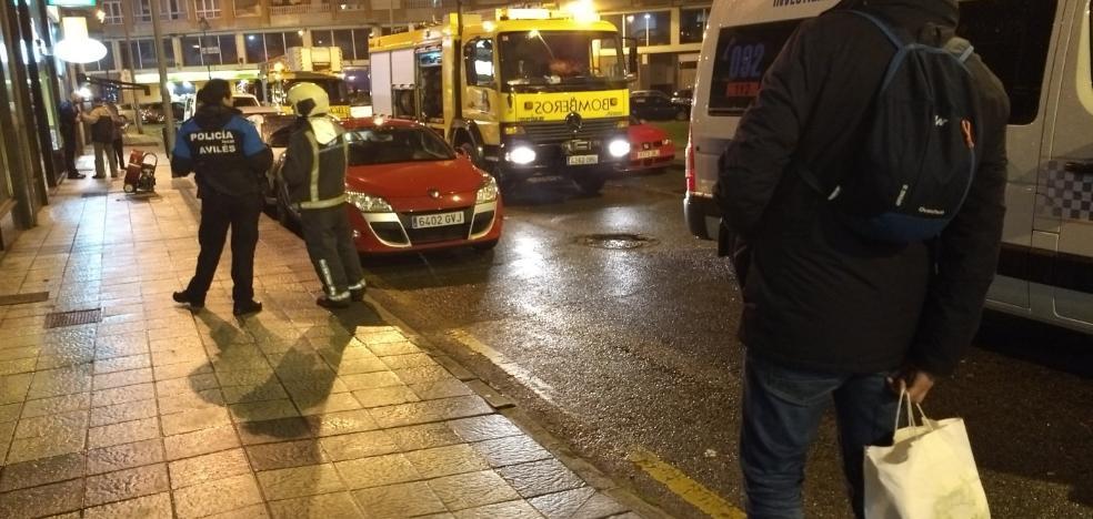 Dos intoxicados en el incendio de un piso en la plaza del Vaticano