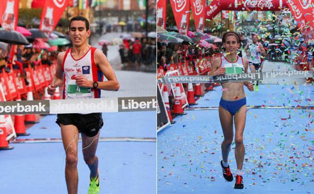 Youssef y Paula mandan en Castrillón