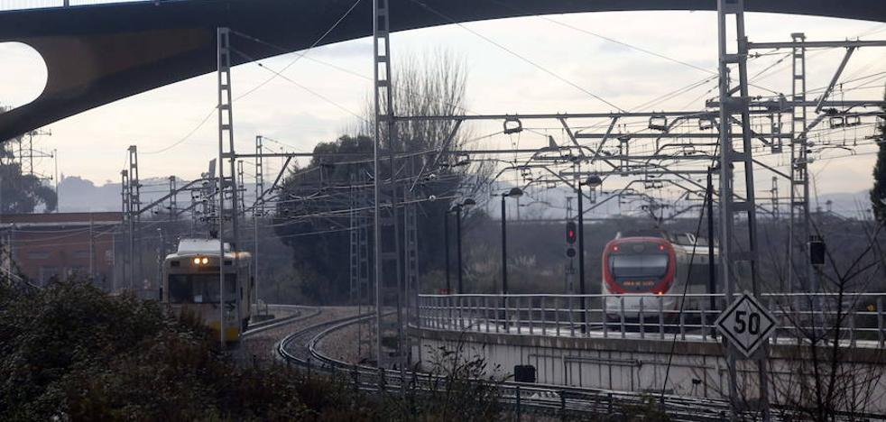 La línea de Feve entre Avilés y Gijón sufre la mayor congestión de la región y está al 91%
