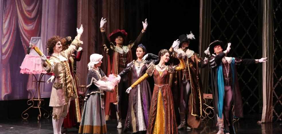 La danza clásica brilla en Avilés