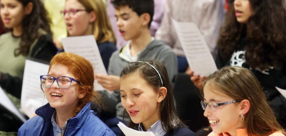 Una «cantera» para la música coral