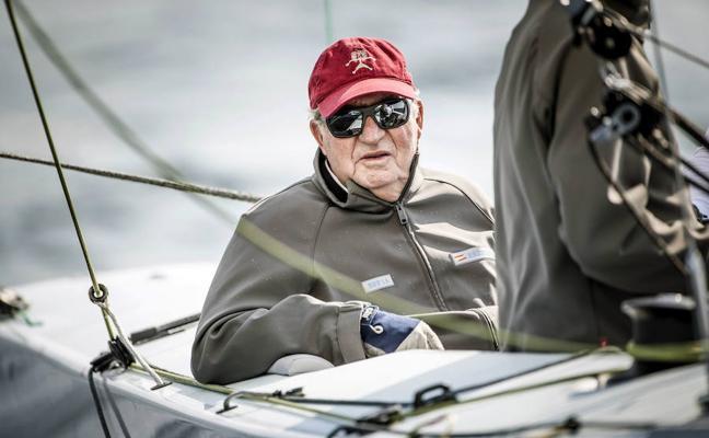 Juan Carlos I: «He sido muy competitivo en el deporte y en la vida»