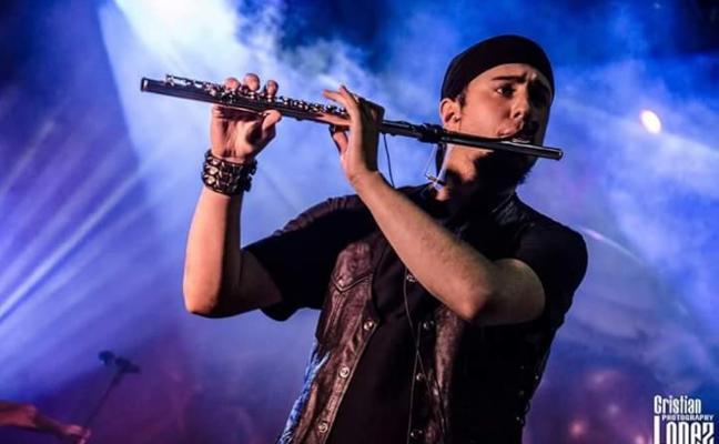 Un flautista asturiano con magia