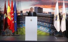 Florentino Pérez: «El Madrid es la institución más prestigiosa y admirada del mundo»
