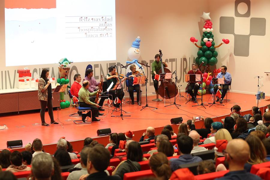 Las Aulas Hospitalarias del HUCA se llenan de música