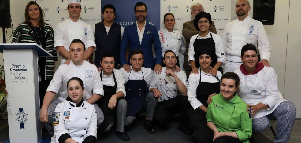 Un alumno del IES Pravia aspira al premio Promesas de Le Cordon Bleu