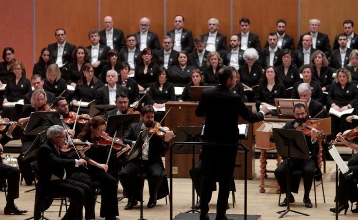 'El Mesías' vibra en el Auditorio de Oviedo