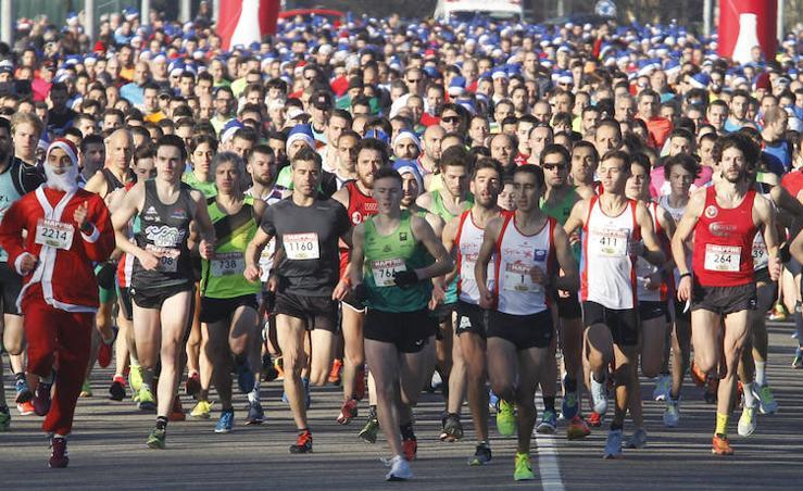 ¿Estuviste en la Carrera de Nochebuena de Gijón? ¡Búscate!