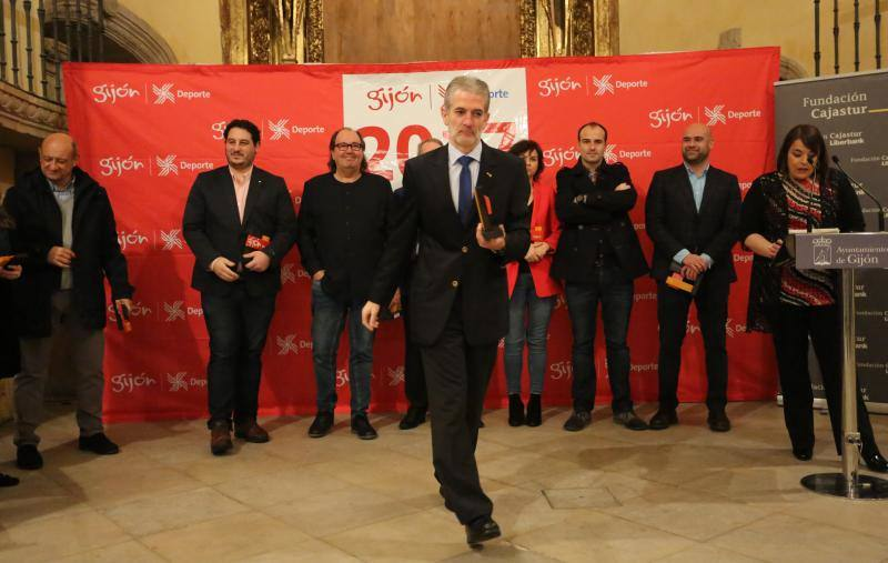Reconocimiento al deporte de Gijón