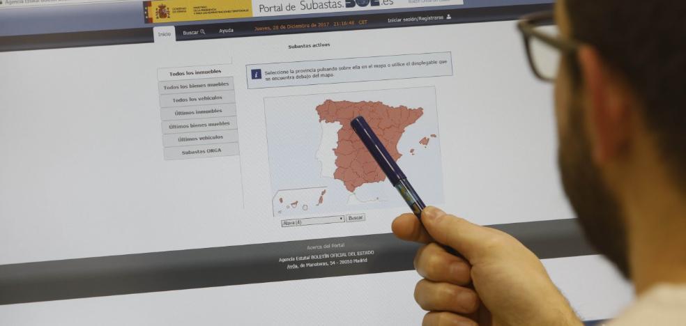 Los juzgados asturianos celebran 906 subastas por más de 31 millones de euros