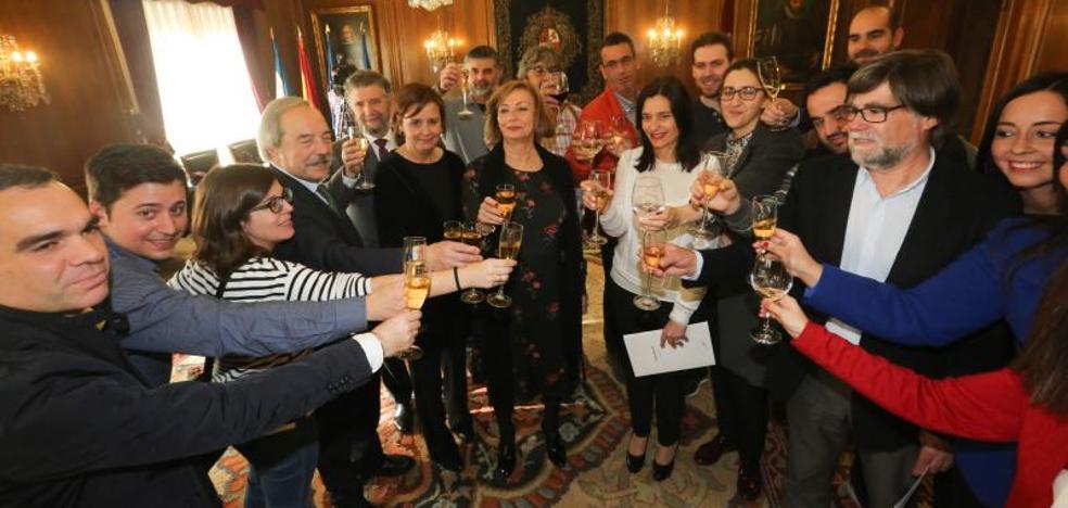 Los alcaldes de Oviedo, Gijón y Avilés subrayan la «excelente sintonía» entre los tres municipios