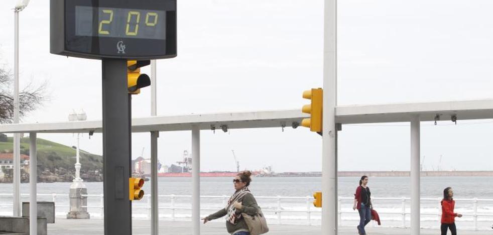 Asturias supera los 20 grados a dos días de Nochevieja
