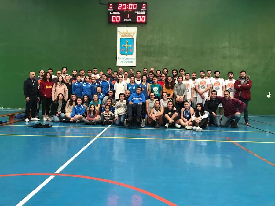 El baloncesto asturiano rinde homenaje al entrenador avilesino Emilio García