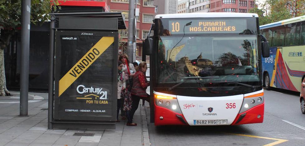 Horario de los autobuses de Gijón en Nochevieja y Año Nuevo
