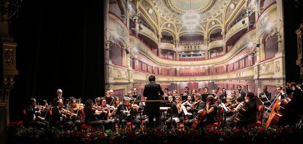 El Palacio Valdés de Avilés recibe el Año Nuevo con un concierto sinfónico