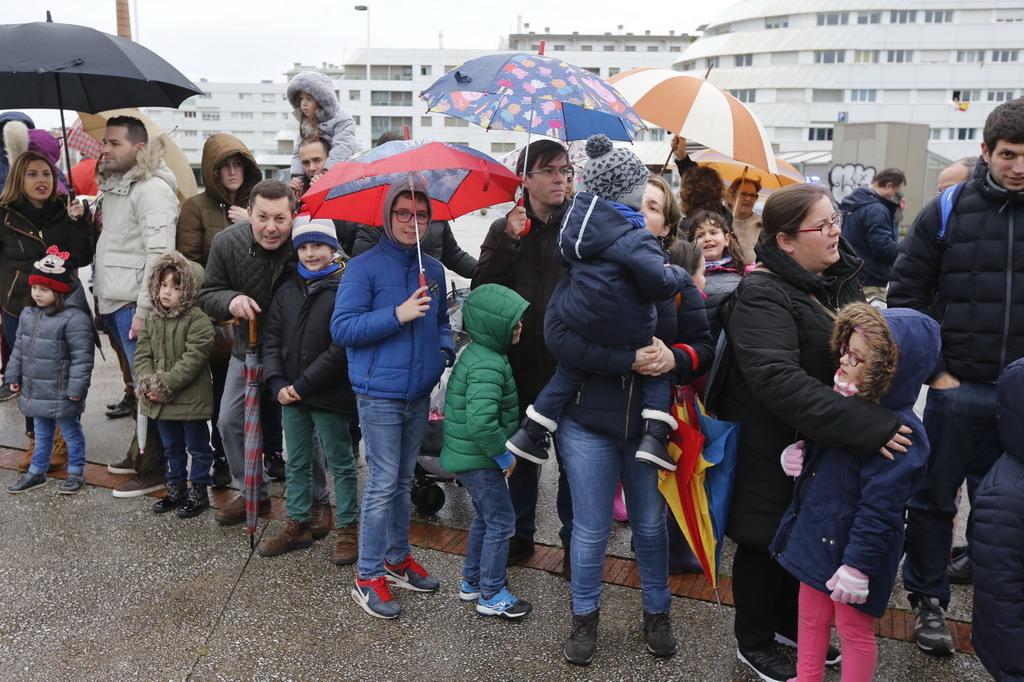 ¿Estuviste en la llegada de los Reyes Magos a Gijón? ¡Búscate en las fotos! (I)