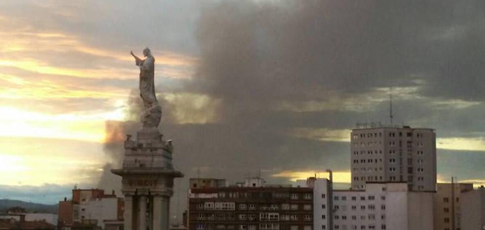 El Ayuntamiento asegura que no hay riesgo para las personas y que la contaminación no ha aumentado