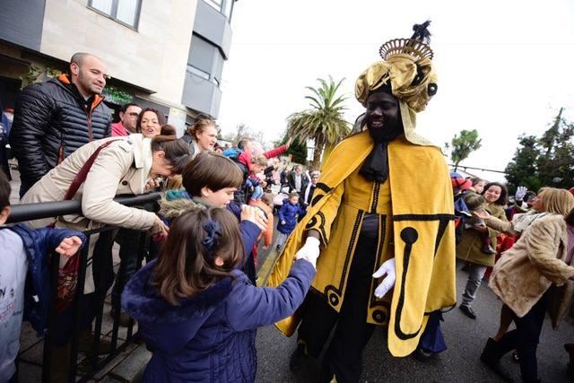 La alegría de los Reyes Magos llega a Noreña