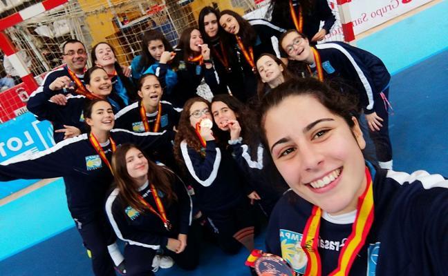 Asturias se cuelga el bronce en el Nacional infantil