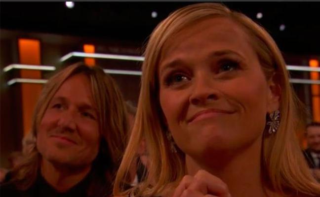 La mirada viral de Reese Witherspoon a Nicole Kidman en los Globos de Oro