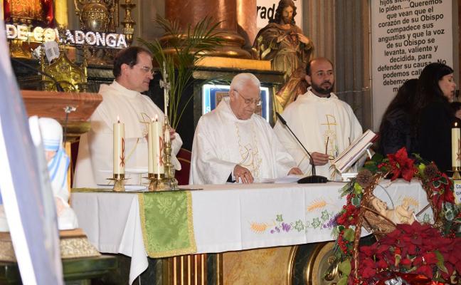 El padre Ángel: «Aurelio Menéndez venía a la iglesia para ayudar a los sintecho»