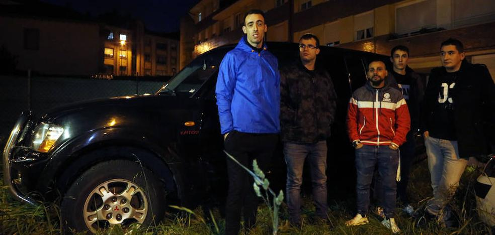 Los jóvenes de L'Angliru: «Flipamos con la que se ha liado»