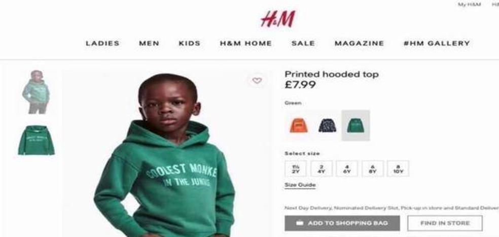 H&M retira el anuncio y la sudadera calificada de racista