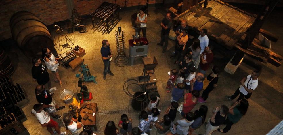 El Museo de la Sidra cierra hasta el mes de marzo para reparar las filtraciones de la cubierta