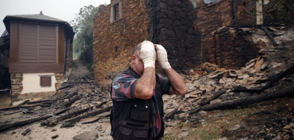 Foro exige 4,4 millones para los afectados por los incendios forestales