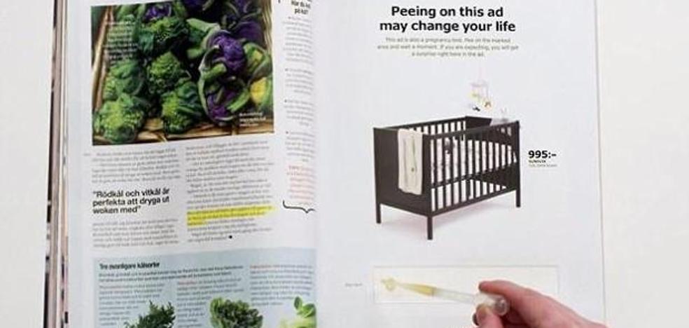 Haz pis en el anuncio de Ikea y, si estás embarazada, te rebajan la cuna