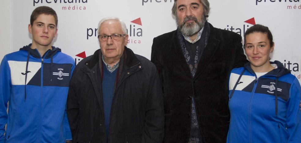 Carlota Álvarez y Pablo Rodríguez, becados