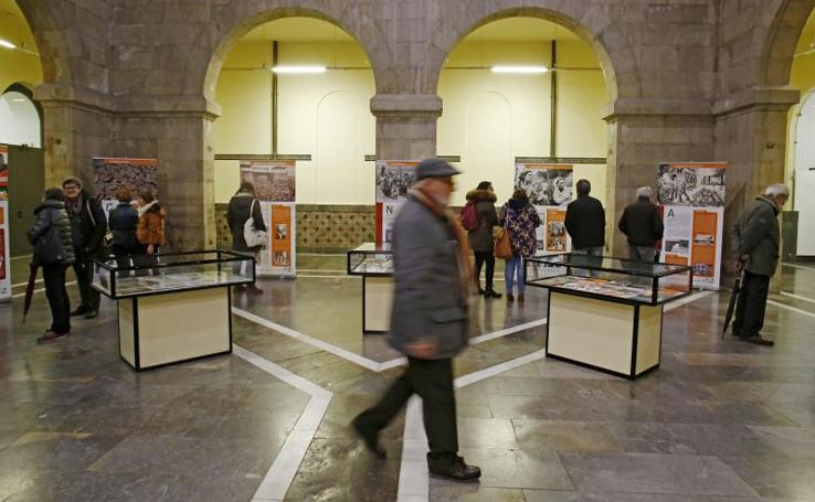 Exposición Lecciones del Holocausto en Gijón