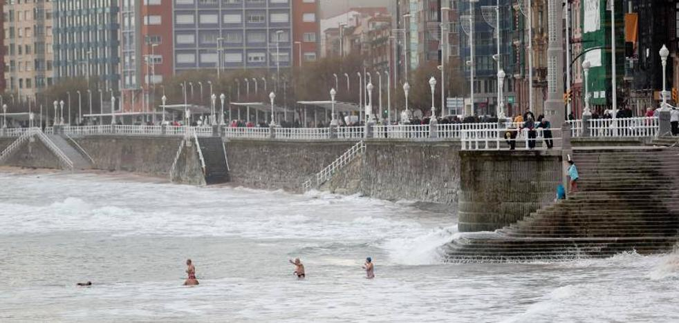 El temporal azota Asturias con vientos que llegaron a 132 kilómetros por hora
