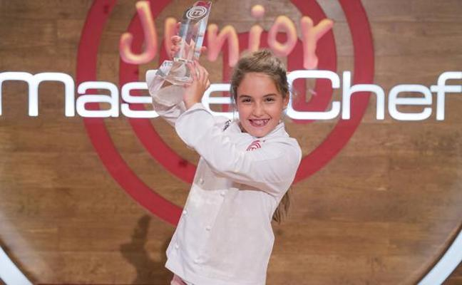 Esther Requena, ganadora de 'MasterChef Junior': «Soy feliz cuando me pongo el delantal»