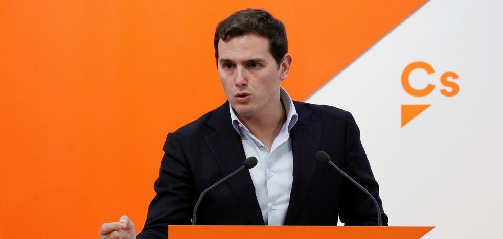 Rivera se reunirá con Renzi en Roma para abordar los retos del futuro de Europa