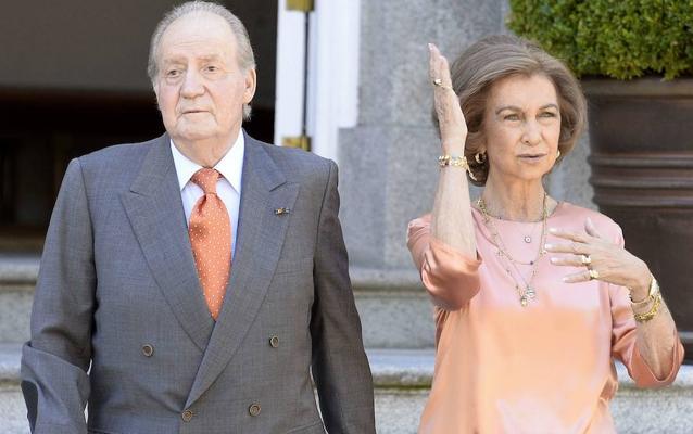 Los reyes Juan Carlos I y Sofía viajarán el 19 de enero a Roma