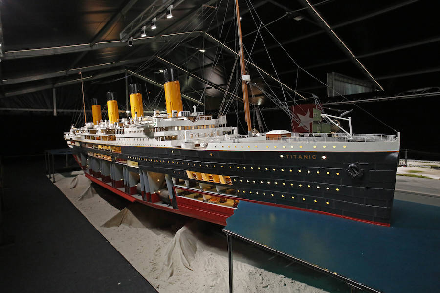 Titanic, la exposición