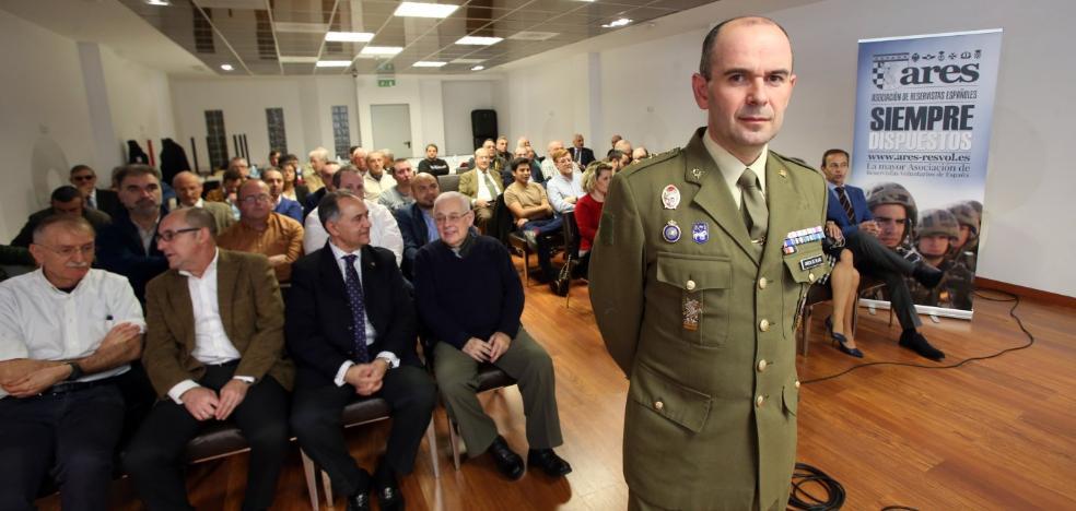 García de Béjar en la Pascua Militar de Ares