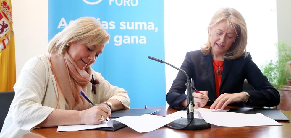Coto insta al PP a evitar que el «tránsfuga» de Foro de Valdés acabe liderando su partido