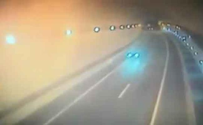 Así iba el 'kamikaze' que causó el accidente de la A8 en Cantabria