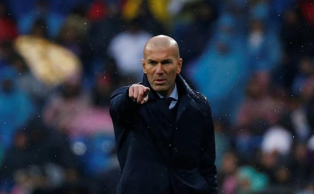 Zidane: «Hoy no nos merecíamos este palo»