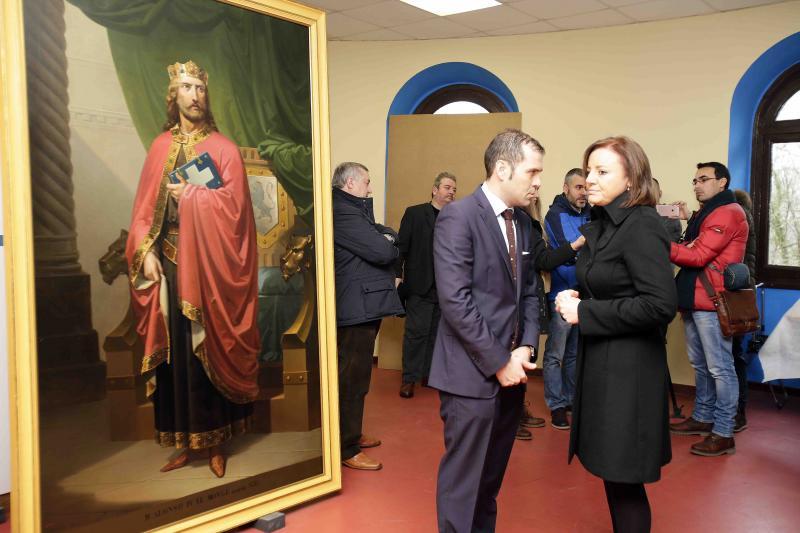 La monarquía asturiana vuelve a Covadonga