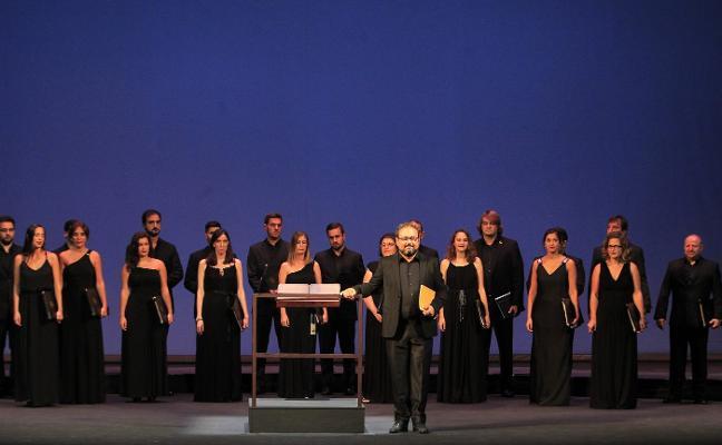 Víctor Manuel, la Orquesta de Cámara de Siero, Dana Raz, Andreas Prittwitz y el Coro El León de Oro en «un concierto histórico»