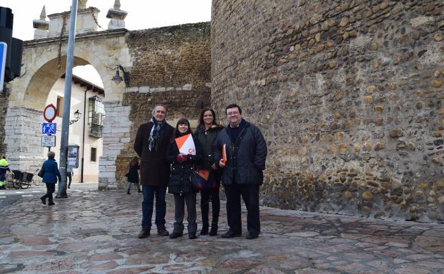 Ciudadanos pide seguir el ejemplo de León para potenciar la muralla medieval