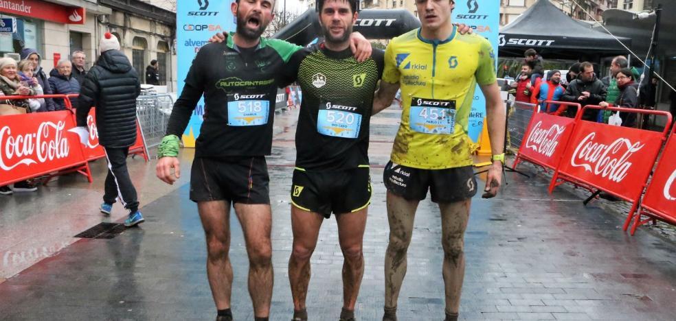140 corredores desafían a la lluvia y el barro en la subida al Picu Fariu