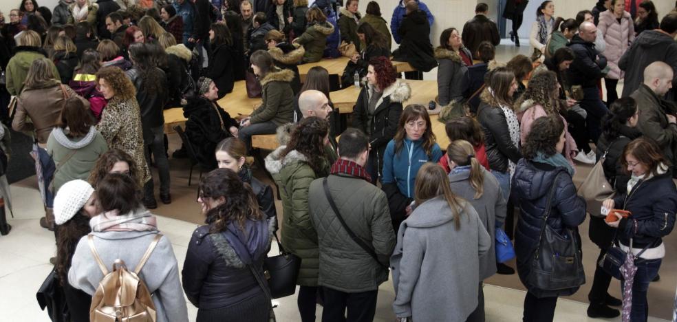 Multitudinario examen para tres plazas