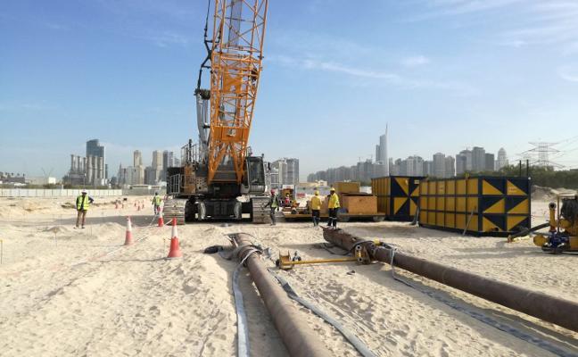 Duro ejecuta en Dubai la central de gas que asegurará el suministro en la Expo Universal