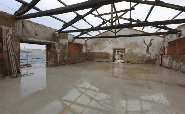 El centro de interpretación del puerto y el Cañón de Avilés abrirá en verano